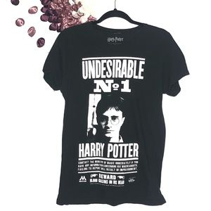 Harry Potter Undesirable 'Wanted'  Graphic Tee